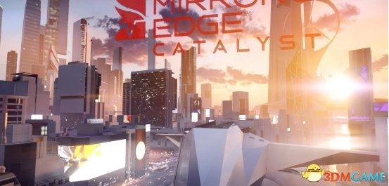 游戏的开头画面,城市黄昏的魅力着实让我爱上