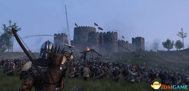 <b>《骑马与砍杀2:领主》500单位攻城战并非全部实力</b>