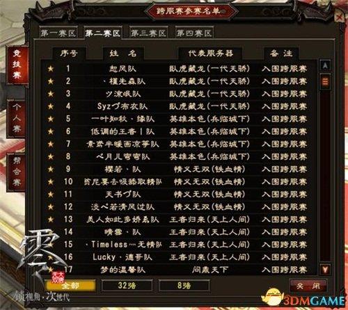 《大唐无双零》跨服赛开战 首波周年庆活动登陆