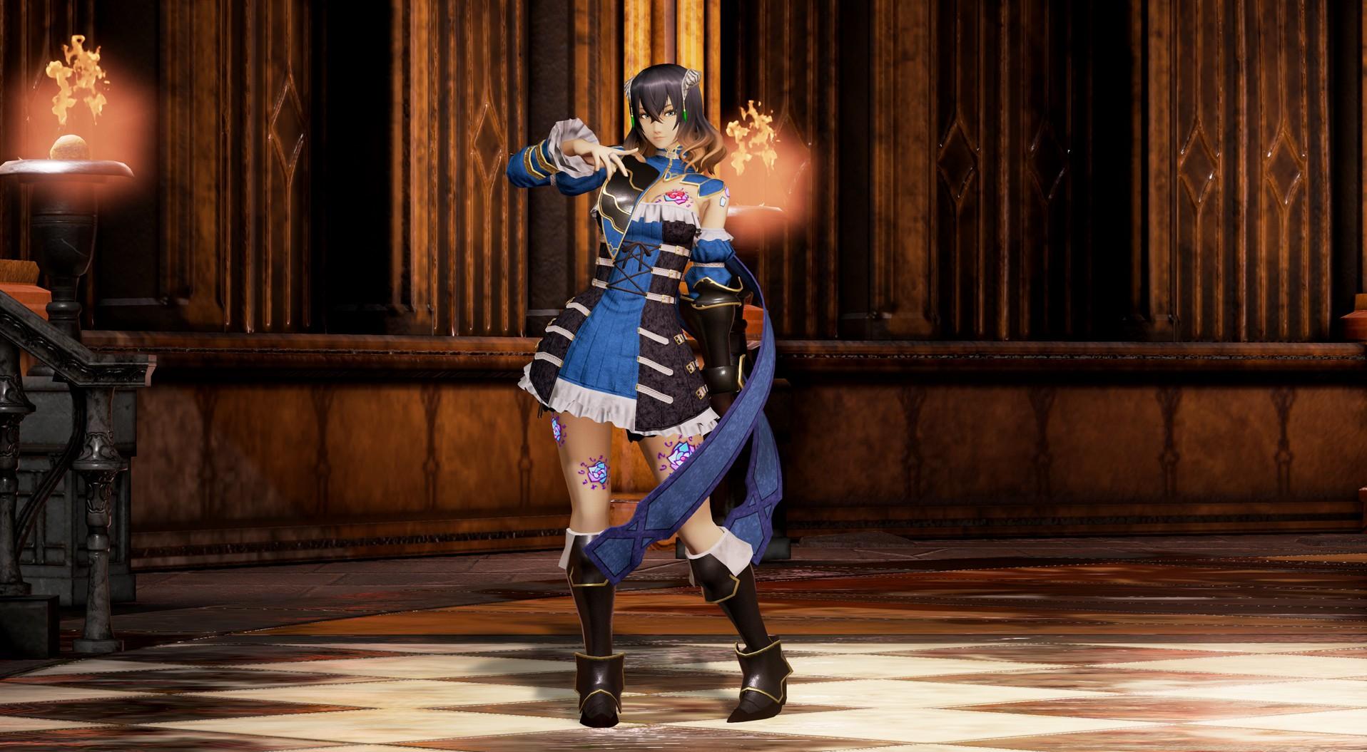 《血迹:夜之仪式》着色方案确定 3D女主模型欣赏