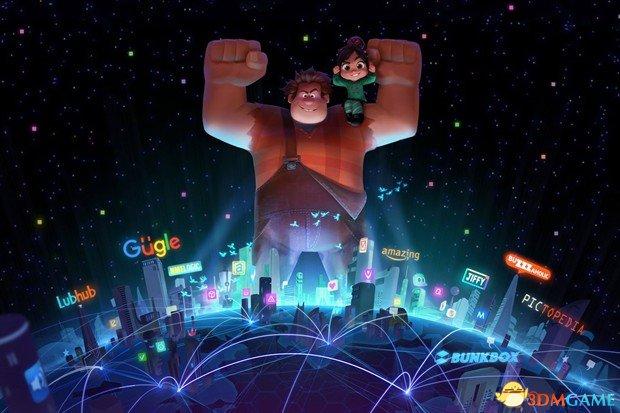 迪士尼确认《无敌破坏王》续集拍摄:2018年上映