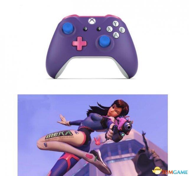 这手柄颜值爆表 《守望先锋》配色的Xbox手柄图赏