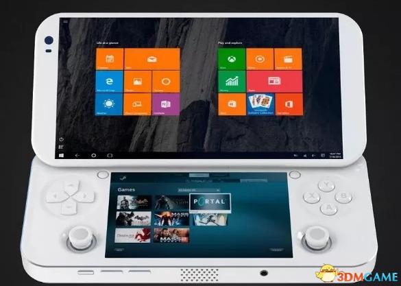 PC游戏随身携带,PGS发布Win10游戏掌机