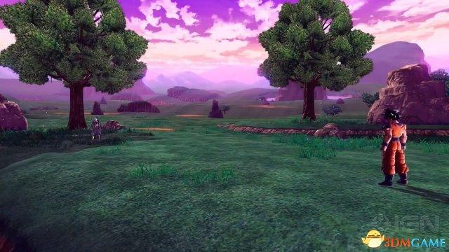 游戏《龙珠:超宇宙2》全新视频演示 悟空与特兰克斯激战