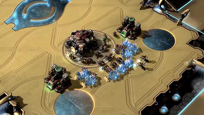 《星际争霸2》RPG地图:DOTA 0.9版