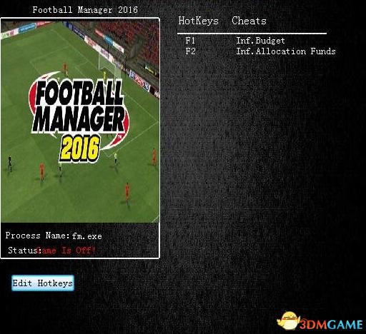 足球经理2016 v16.2两项修改器
