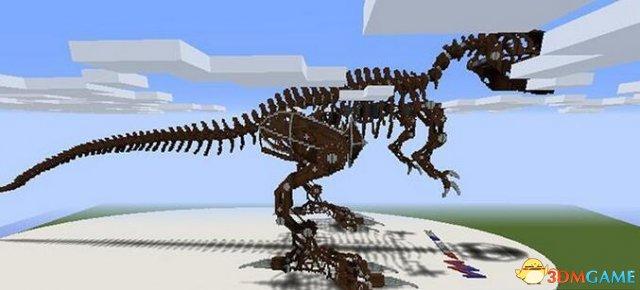 我的世界 机械恐龙骨地图包下载 我的世界 机械恐龙骨地图包下载 单机