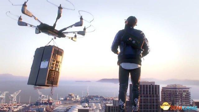 《看门狗2》官方系列预告第一集 男主和黑客组织