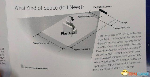 PSVR占用空间曝光!你至少腾出一块6平米大地方