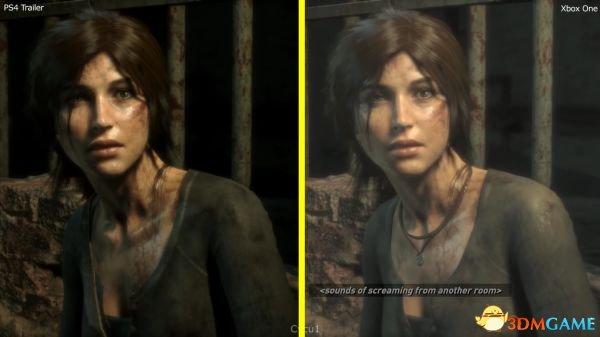 喜闻乐见《古墓丽影:崛起》PS4 XboxOne画面对比