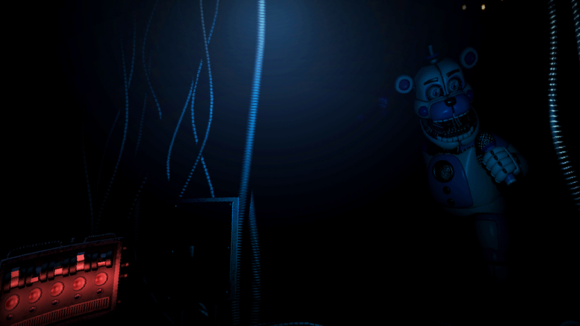 玩具熊的午夜后宫2第一夜攻略