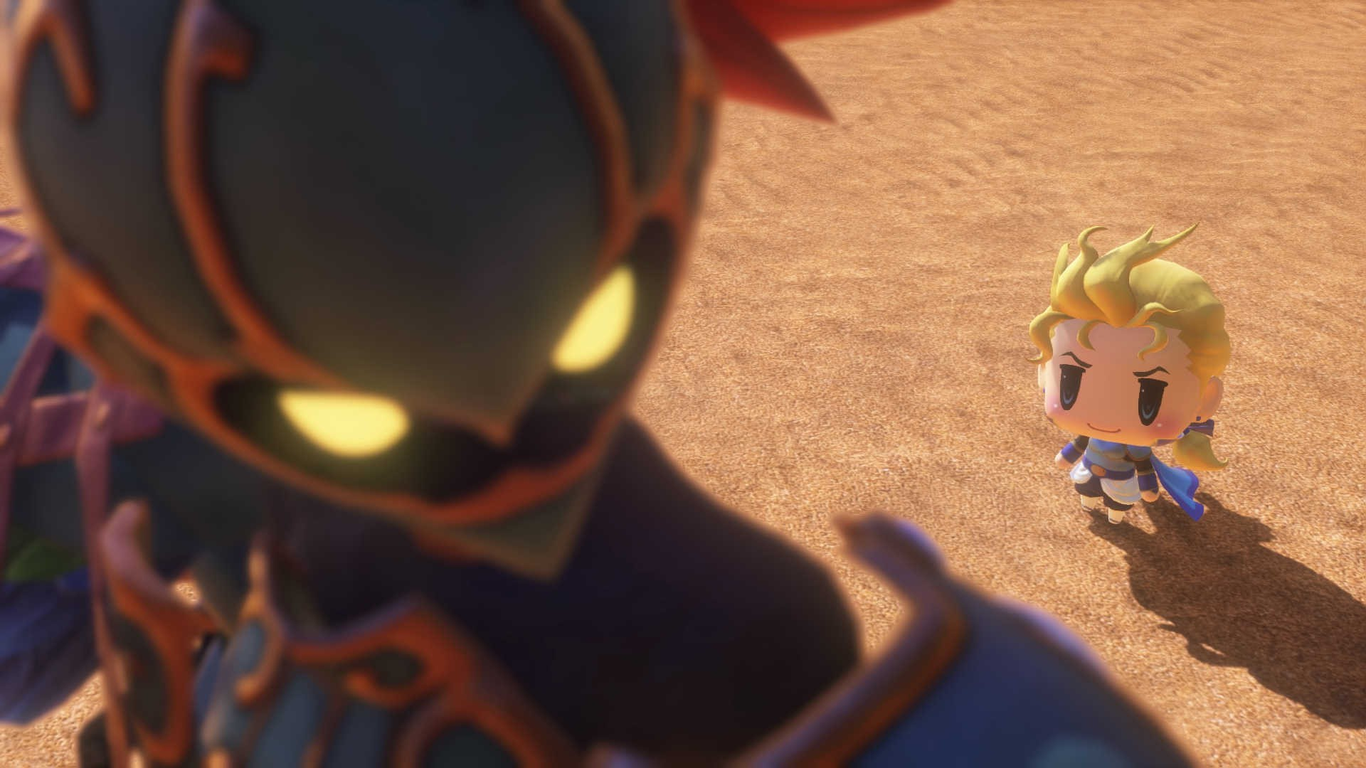 最终幻想:世界 迷影兽图鉴全收集存档
