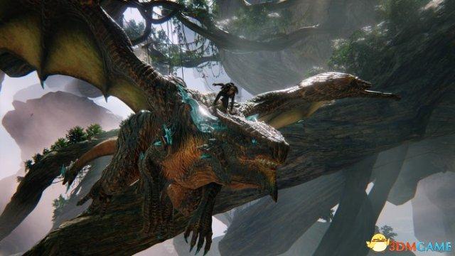 新截图展示龙之铠甲和村落,龙鳞化身
