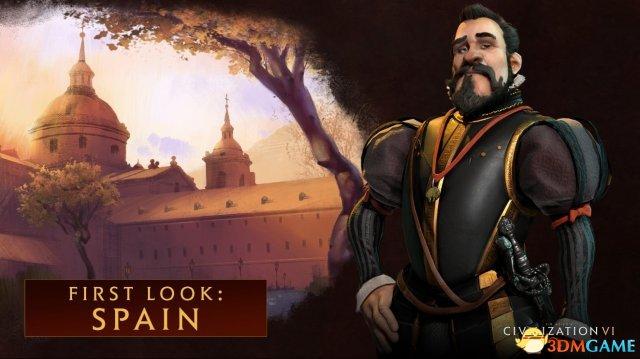 <b>2K Games《文明VI》由菲利普二世担任西班牙领袖</b>