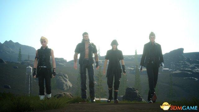《最终幻想15》并非全部是开放世界 只有前半段是
