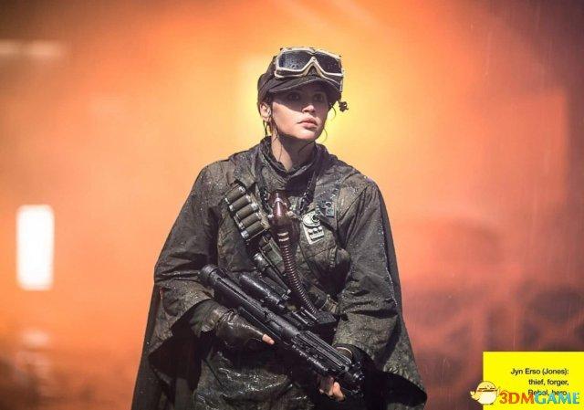 《侠盗一号:星球大战外传》剧照 圣地Jedha星曝光