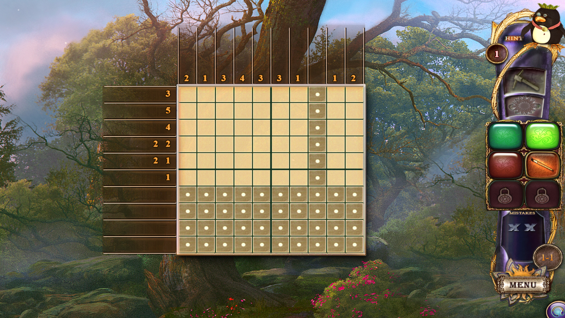 幻想马赛克17:全新调色板英文免安装版