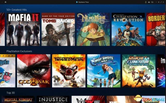 外媒上手PC版PS Now:这就像是主机游戏的进化