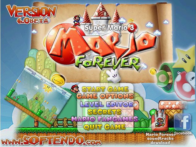 Mario Forever 游戏截图