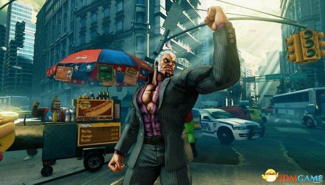 《街头霸王5》新角色介绍视频 逆光的霸道尤里安