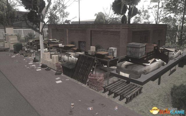 侠盗猎车 圣安地列斯 贫民窟垃圾站地图MOD下载 GTASA垃圾站地图图片