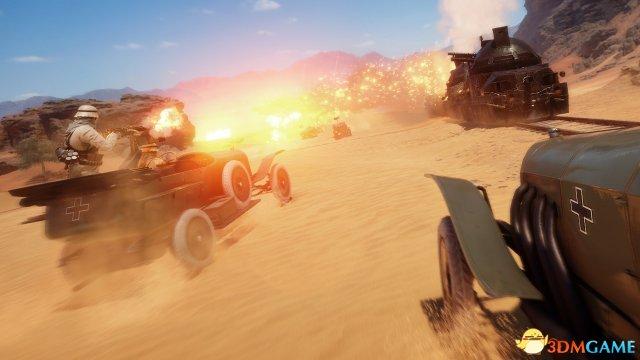 《战地1》轻型坦克将被削弱 官网公开改动细节