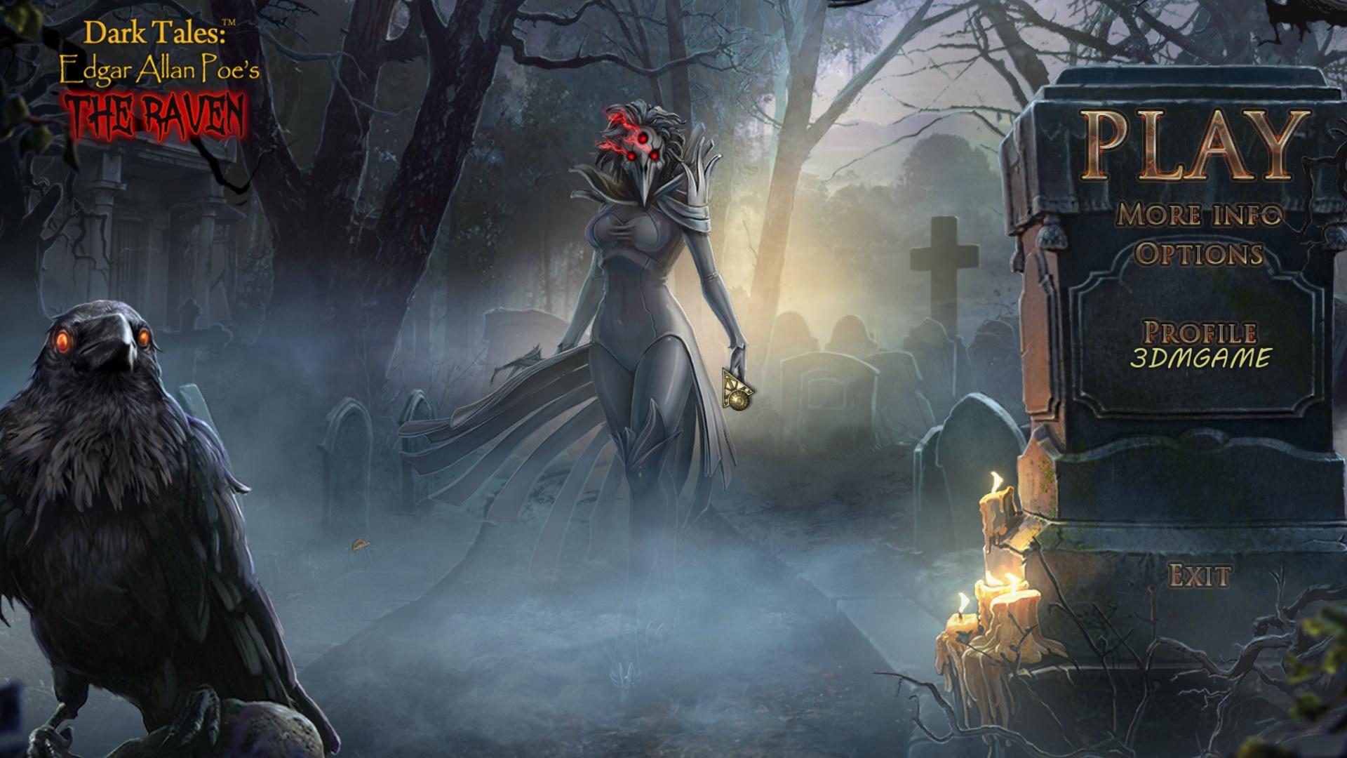 黑暗传说10:爱伦坡之乌鸦 游戏截图