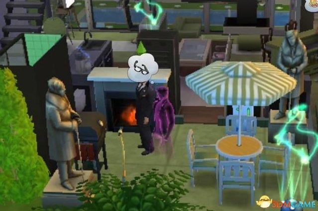 模拟人生4收集死亡的鬼魂方法