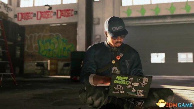 《看门狗2》游戏介绍视频:真正的武器是大数据