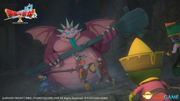 《勇者斗恶龙X》战斗新玩法 半回合制同样带感