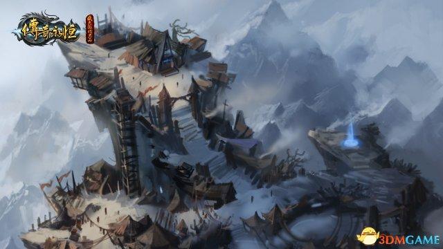 雪夜送刀 《传奇永恒》神兵系列小说之屠龙(二)