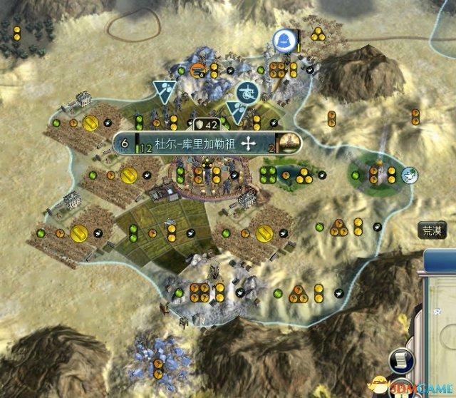 沙漠地形有了佩特拉,亩产一千八。