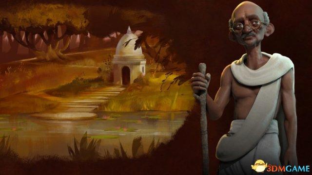 印度领袖甘地