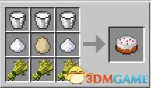 小麦+牛奶+鸡蛋+糖