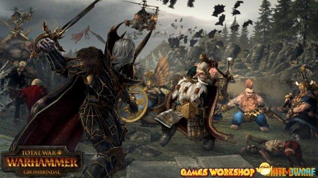 《全面战争:战锤》新英雄:白矮人Grombrindal