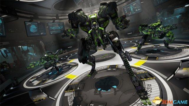 机械化战斗联盟,实机演示