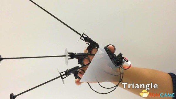 斯坦福大学研发金刚爪 简简单单就能够实现VR触觉