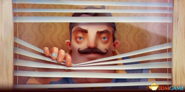 动作恐怖游戏《你好邻居》新宣传片展示可怕大宅
