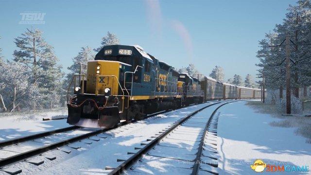 《模拟火车世界:CSX重载货运》游戏介绍视频