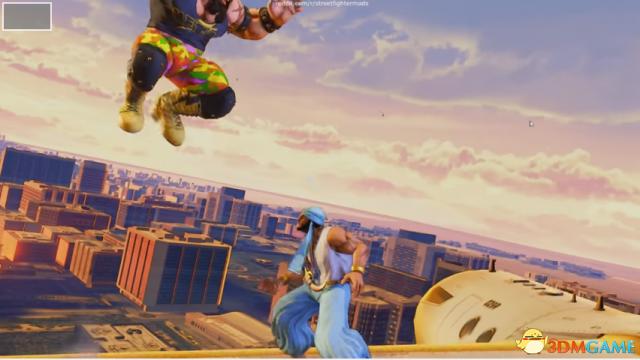 《街霸5》发布新场地,机翼上打架酷到没朋友!