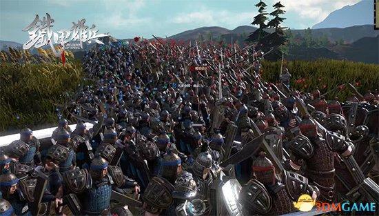 《铁甲雄兵》军团战 策略和配合的双重艺术