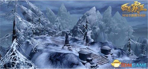 小雪时节,看《西楚霸王》最美雪景