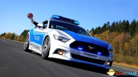 德国高速为什么不限速? 看看德国的警车就明白了