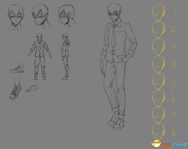 国产游戏《无信者-13号治疗室》情报 主角形象曝光