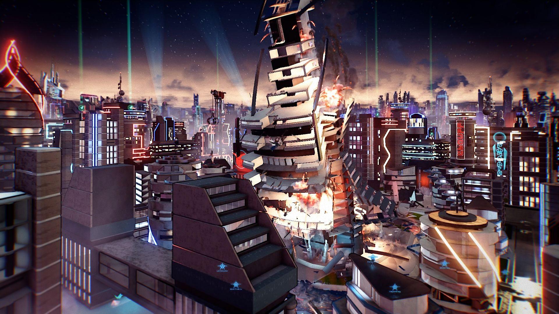 E3 2017:微软《除暴战警3》预告视频正式发布!