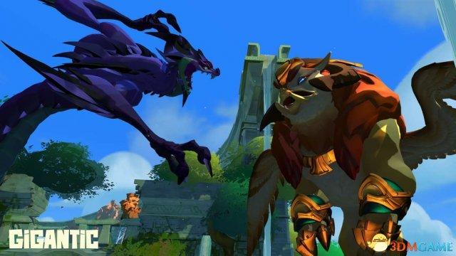MOBA射击游戏《巨兽战争》PC版和XB1版公测开启
