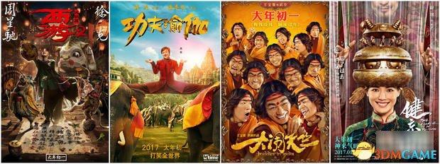 史上最拥挤的春节档 中小成本影片要沦为票房炮灰