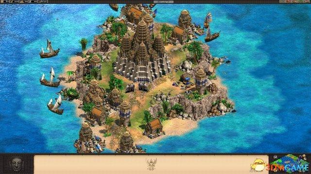 <b>还原经典 《帝国时代2高清版》DLC游戏截图欣赏</b>