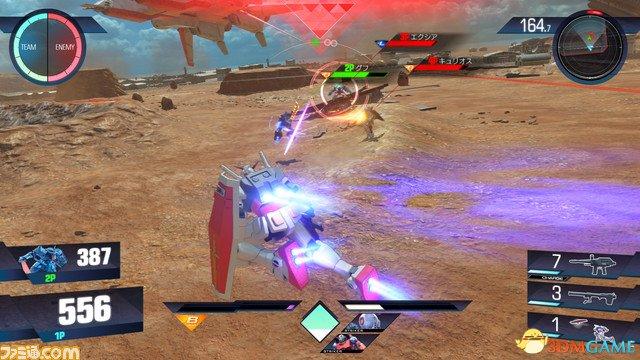 《高达VS》新游戏画面曝光 新机体/新系统详细介绍