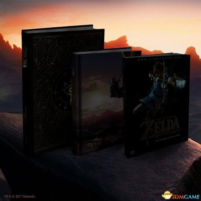 《塞尔达传说:荒野之息》攻略指南书宣传片照